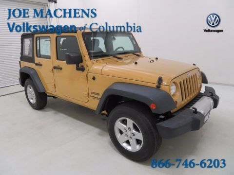 Pre-Owned 2013 Jeep Wrangler Unlimited Sport 4WD