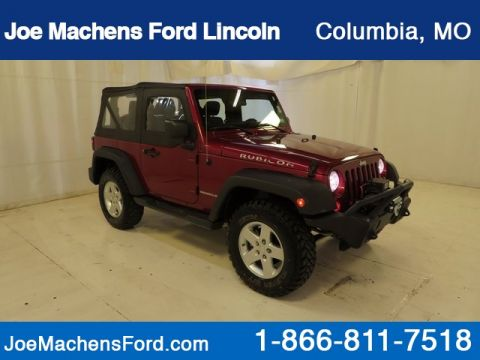 Pre-Owned 2011 Jeep Wrangler Rubicon 4WD