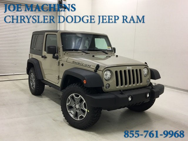 New 2018 Jeep Wrangler Rubicon 2d Sport Utility In
