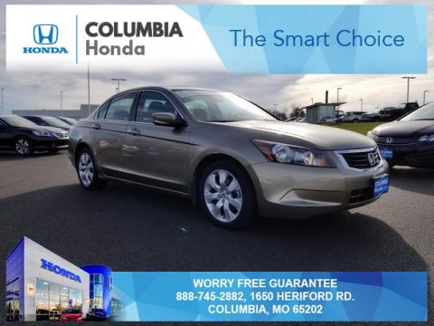 Pre owned 2010 honda accord ex fwd 4d sedan for Honda dealer columbia mo