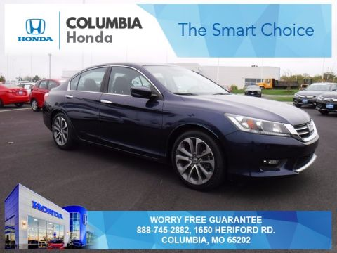 Pre owned 2015 honda accord sport fwd 4d sedan for Honda dealer columbia mo